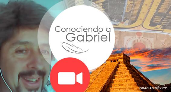 Conferencia evolutiva Conociendo a Gabriel, Gustavo Samorano